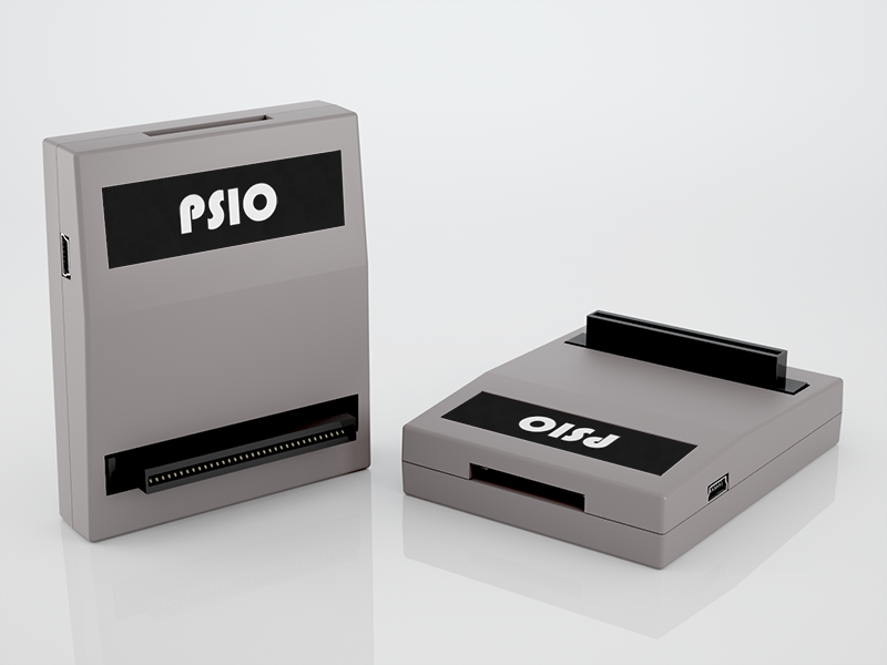 PSIO Cartridge - 3D Render